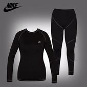 Термобелье женское Nike Pro Core fitted long sleeve shirt