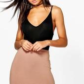 M-L-XL Вискозная юбка мини boohoo