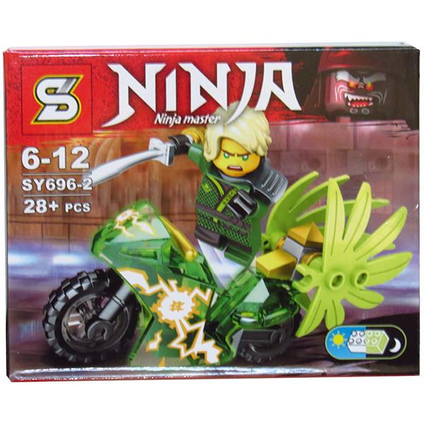Ниндзяго конструктор лего  мотоцикл 8 видов фото №1