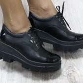 Туфли кожаные, р. 36-40, код ks-2009