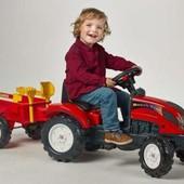 Трактор педальный с прицепом Ranch Falk 2051C