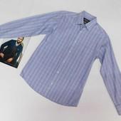 Мужская рубашка  Tcm Tchibo north route размер 40 по вороту