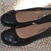 женские туфли балетки Cashion Walk Англия 24.5 см 37-38 размер uk5