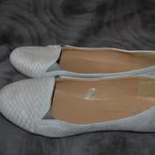 новые балетки туфли Atmosphere 24.5 см 38 размер Англия