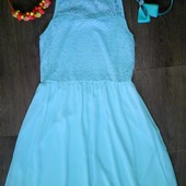 Платье цвет мята New Look на 12-13лет!