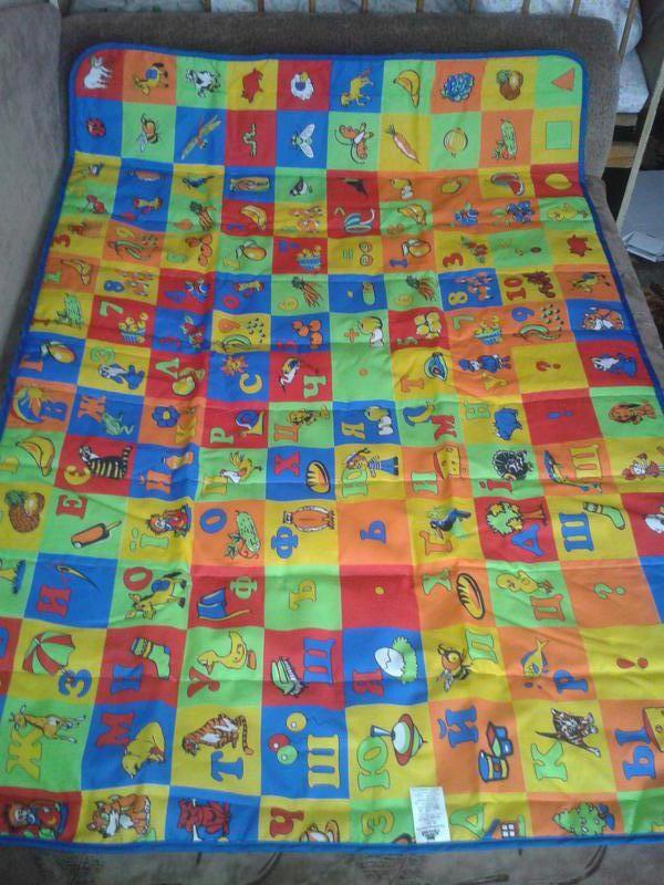 Коврик детский для игр развивающий тм ярослав фото №3