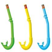 Трубка для плавания Intex 55922, 3 цвета: от 3 лет
