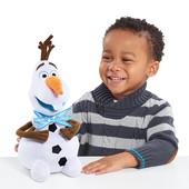 Мягкая игрушка снеговик Олаф Морозное приключение Олафа