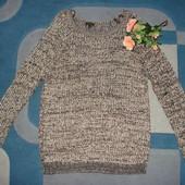 красивенный свитер River Island M/L англ 12 состояние отличное