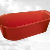 Ванна детская красная