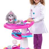 Just Play Barbie тележка набор доктора уход за животными