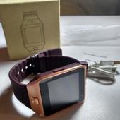 Универсальные смартчасы Smart watch DZ09 (смарт-часы) sim, sdcard, Bluetooth