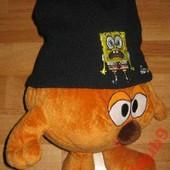 Теплая шапка Губка Боб + шарф флис Takko Германия