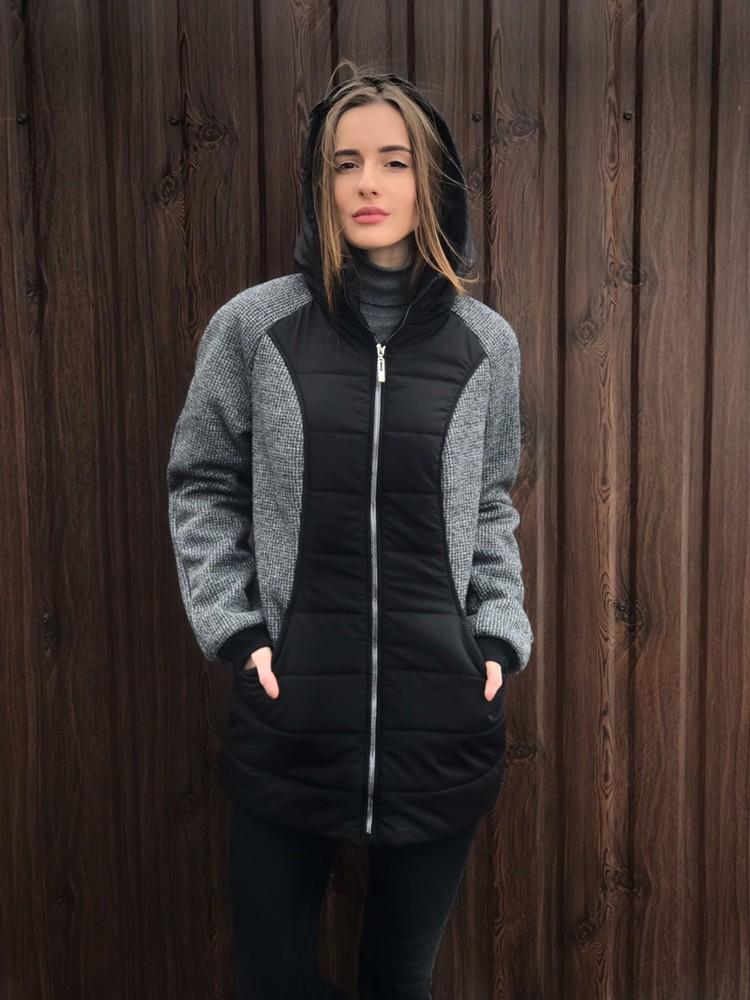 Женская демисезонная куртка полубатал р.46,48,50,52,54. фото №1