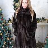 Норковая шуба дешево модель халат