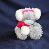 Игрушка мягкая Мишка Teddy 13 см в наушниках