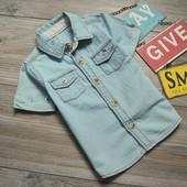 Рубашка стильная George (9-12 мес)