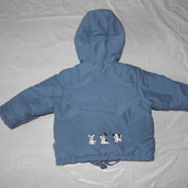 р. 74-80-86, термокуртка Snow Friends, Германия куртка демисезон или теплая зима от +5 до -5