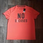 Мужская футболка р.L Crivit Sport Германия оранж