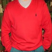 Брендовая стильная кофта свитр полувер .Polo (поло). хл-2хл .