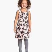 Платье в бантики H&M (4-6 лет