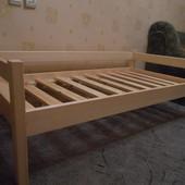 Кровать нат. дерево  эконом