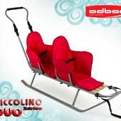 Санки для двойни Piccolino Xdrive Duo. Adbor