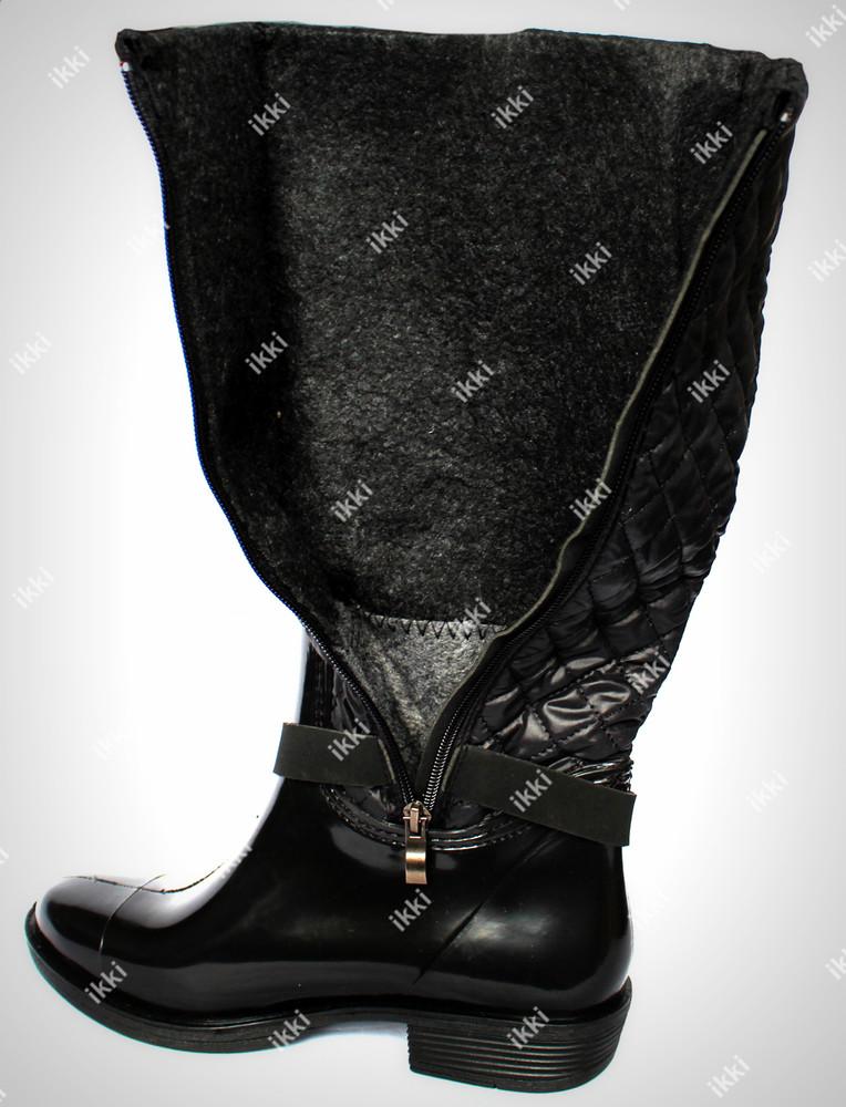 36 размер женские резиновые сапоги для непогоды (ч-36) фото №4