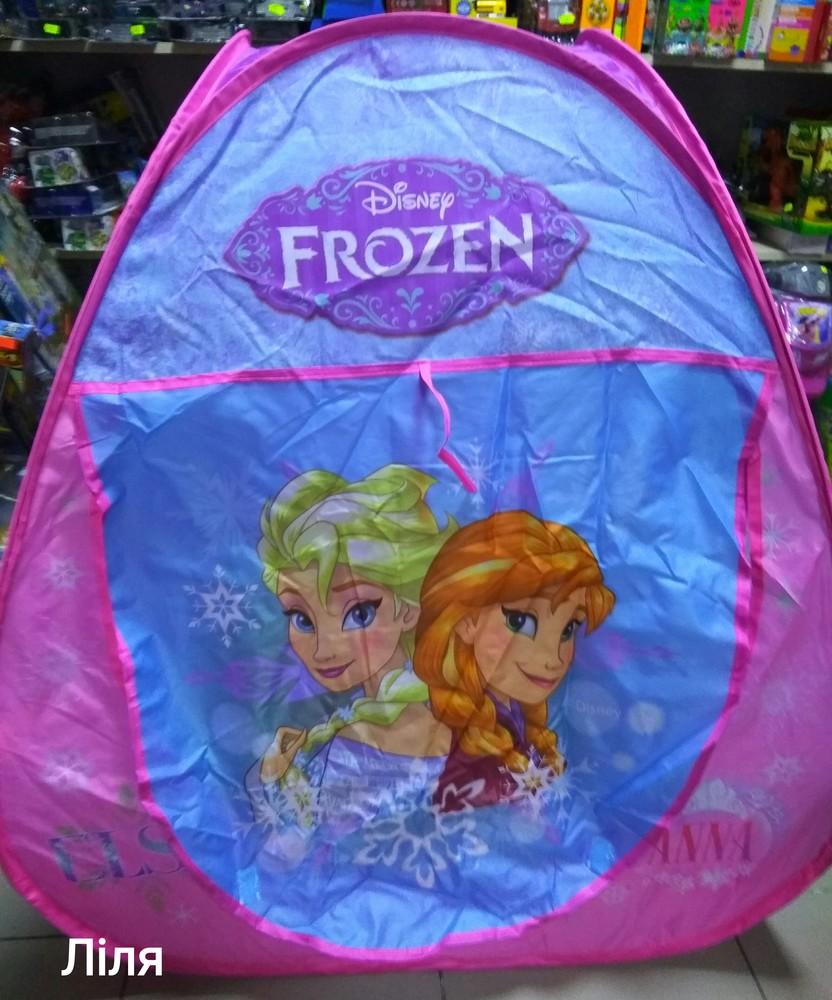 Палатка frozen hf017 фроузен, с анной и эльзой фото №1