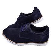 Туфли мужские замшевые Multi-Shoes Mexx