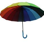 Новинка!!Зонт на 16 спиц трость.