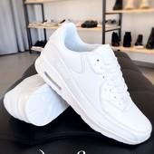 Кроссовки мужские белые копия Air Max