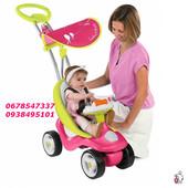 велосипед -каталка Smoby 720102 Каталка 2 в 1 Bubble Go Rouge Pink
