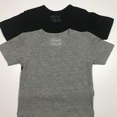 Набор детских футболок на мальчика 2-4 года, рост 98/104