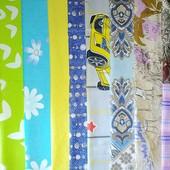 Наборы ткани для рукоделия:печворк, игрушки, поделки и др. Хлопок100%. В наборе 10шт.