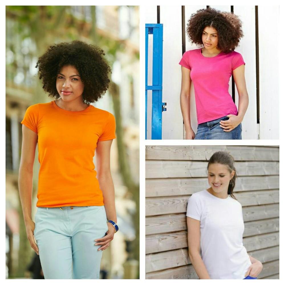 Женские футболки, приталенные. очень мягкий хлопок. выбор цвета. фото №1