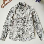 Фирменная рубашка Bershka, размер L