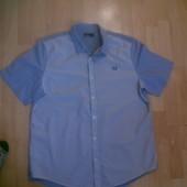 Фирменная хлопковая рубашка XL