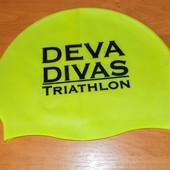 Новая фирменная шапочка для плавания для подростка 13-15 лет