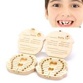 Коробочка-огранайзер для молочных зубов