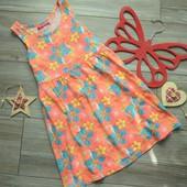 Платье с цветами YD (6-7 лет)