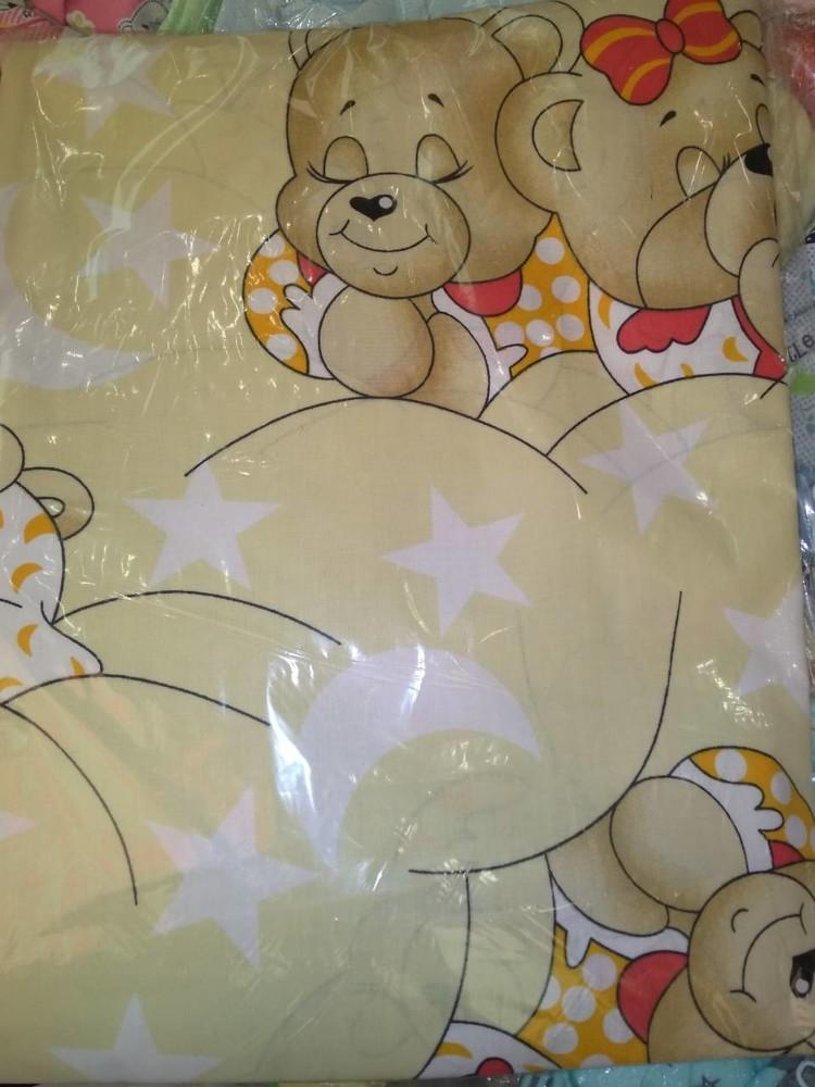 Набор детского сменного постельного белья в кроватку для новорожденного фото №10