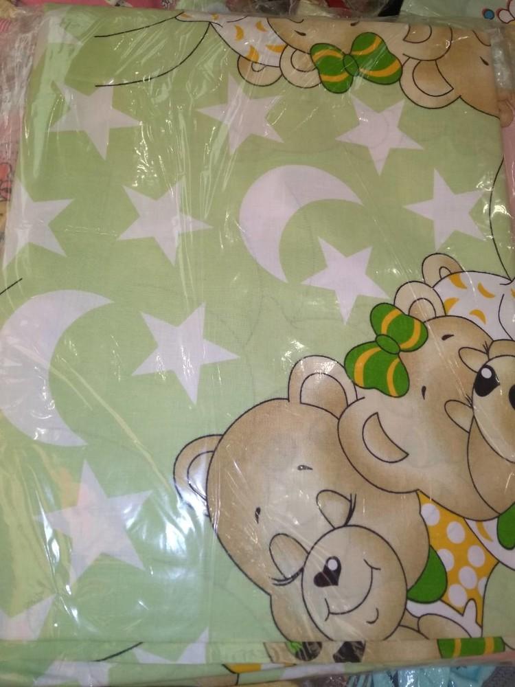 Набор детского сменного постельного белья в кроватку для новорожденного фото №12