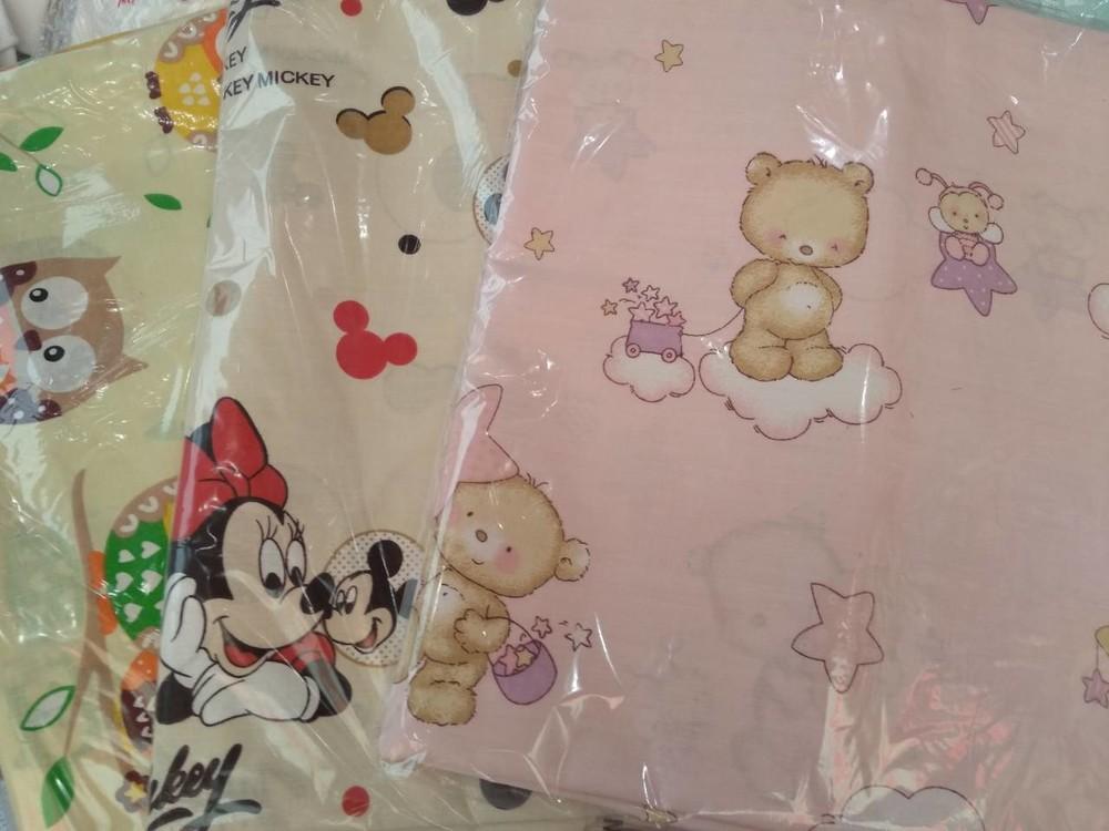 Набор детского сменного постельного белья в кроватку для новорожденного фото №2
