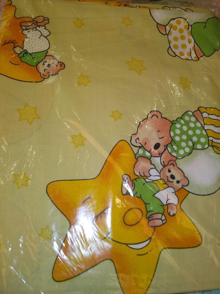 Набор детского сменного постельного белья в кроватку для новорожденного фото №9