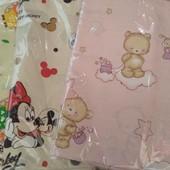 Набор детского сменного постельного белья в кроватку для новорожденного