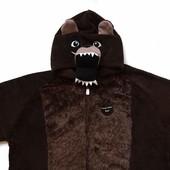 размер xl-xxl, новый махровый взрослый костюм-человечек-пижама Медведь, Cedar Wood State.