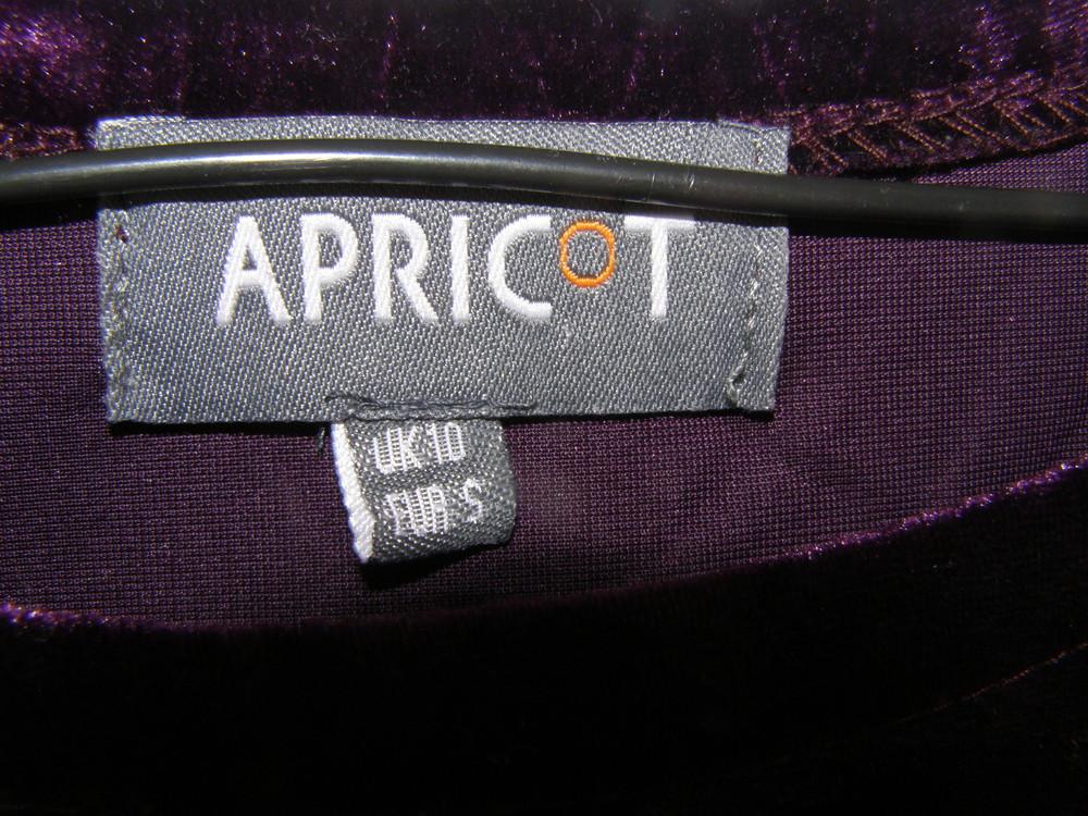 Шикарное бархатное платье от apricot s-размер фото №4