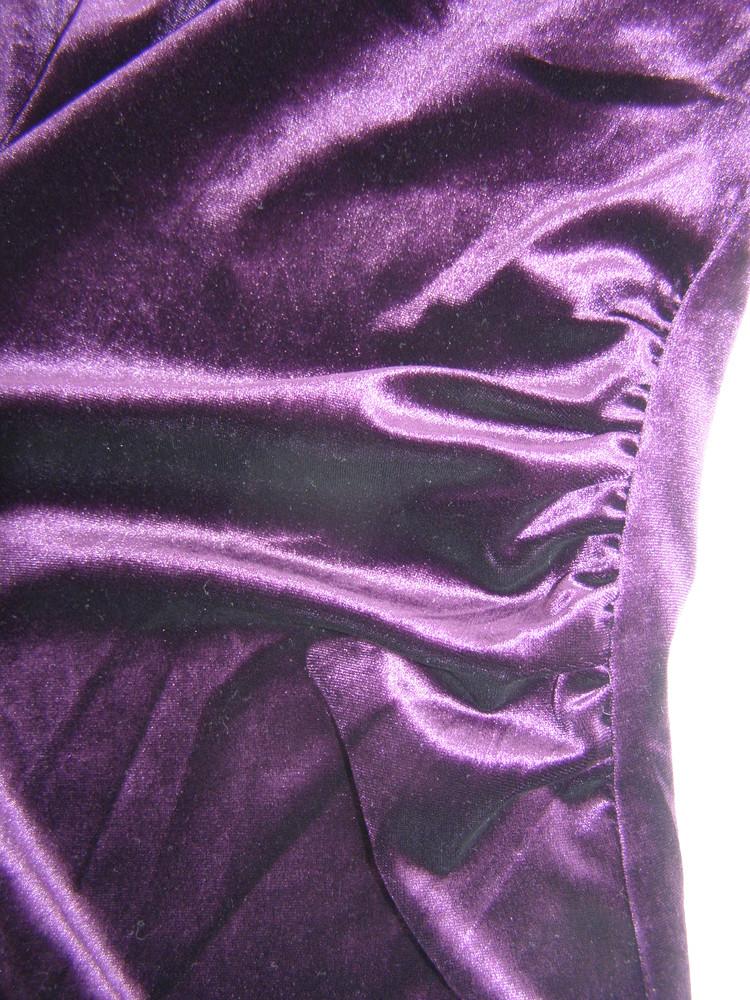 Шикарное бархатное платье от apricot s-размер фото №5