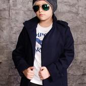 Детское пальто для мальчика 128-152р